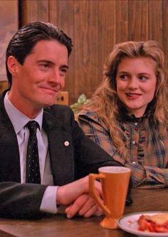 Dale Cooper and Annie Blackburn on Twin Peaks