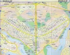 a map of the capital of Brazil,Brasilia absolute location  10.6500 S 52.9500 W