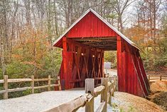 Take a tour of America's most picturesque covered bridges and see how these historic treasures combine clever engineering with artful design