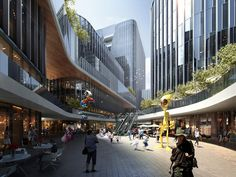 With close access to the major road of the city and the tourist attraction Qianfo Mountain, this mixed-use project comprises office and retail spaces, serviced apartments and a hotel. With a height difference of 13.8 metres at the site, a multi-level retail street with a rational layout is introduced to energise the retail space at the lower levels. A well-organised retail circulation with nodes runs through the architectural layout with a mountain-and-spring-inspired design. The gesture of…