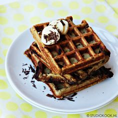 Healthy Baking, Healthy Snacks, Deliciously Ella, Low Carb Bread, Pancakes And Waffles, Churros, Best Breakfast, Love Food, Sweet Recipes