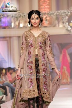 Shabnam Naz Bridal Collection At Telenor Bridal Couture Week 2015