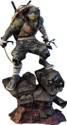 Teenage Mutant Ninja Turtles Out of the Shadows Statue Leonardo 61 cm Ninja Turtles Movie, Ninja Turtles Art, Teenage Mutant Ninja Turtles, Leonardo Tmnt, Anime Figures, Action Figures, Hobbies For Men, Tmnt 2012, Marvel