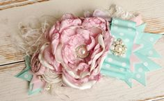 Miss Cozette headband or sash by CozetteCouture on Etsy, $29.99