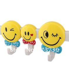 Aliexpress.com : Buy Smile Faces Plastic 4 Hook with Suction Cups (5kg Max. Load) 54897 from Reliable Hook suppliers on EXPRESSEXTREME LTD.
