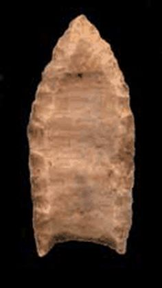 Folsom Site in Colfax County, New Mexico. Indian Artifacts, Native American Artifacts, Native American History, Ancient Artifacts, Native American Indians, Native Americans, Folsom Point, Hopewell Indians, Native Indian