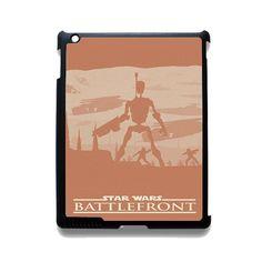 Star Wars Battlefront TATUM-9982 Apple Phonecase Cover For Ipad 2/3/4, Ipad Mini 2/3/4, Ipad Air, Ipad Air 2