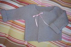 Ravelry: Ribbon Tied Baby Jacket pattern by Debbie Bliss