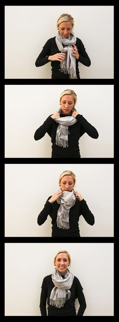 Scarf Tutorial Cowl Neck