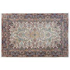 "6'4"" x 4'1"",Traditional area rug for sale, Medallion floral design, Multi Color, Beautiful Design, Code : S0101561"