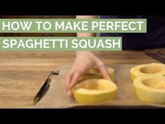No more mushy broken strands of spaghetti squash with this easy-squeezy technique to perfectly bake spaghetti squash.