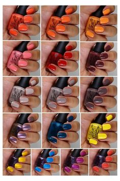 OPI Brazil Collection!