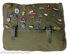 Large Canvas PIN BAG Badges Russian Eastern Bloc Military Olympics Winter Sport | eBay