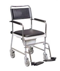 Wheelchair Commode | Mobile Commodes | Wheeled Commodes | Wheeled Shower/Commode Chairs | £93.00
