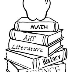 Lots of back to school coloring pages School Pinterest