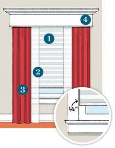Reduce your heating bill up to a quarter off by using cellular shades, sheers, drapes or a valence… or a combination of all four!