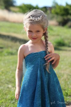 Elsa Dress  Sewing Tutorial - this is a quick and easy sew!