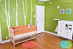 Instead of crib bumpers as the focal point of the room, why not use a crib skirt?  Or use the bumpers as a pseudo skirt below the mattress.