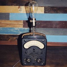 Antique Multimeter Lamp by clever RAVEN #etsy