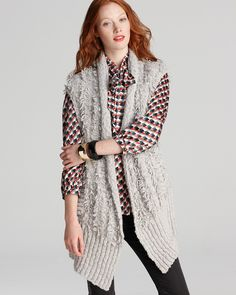 MARC BY MARC JACOBS Sweater Vest - Clipped - Sweaters - Apparel - Women's - Bloomingdale's
