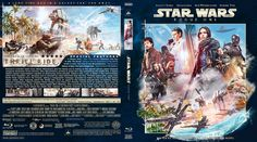A Star Wars Story - Rogue One (2016) Blu-ray Custom Cover
