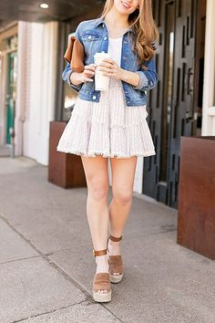 High Waisted Mini Skirt By Lonestar Southern