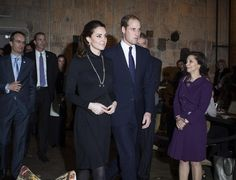 Britain's Prince William, Duke of Cambridge, and his wife, Catherine, Duchess of Cambridge visit NYC December 9, 2014.