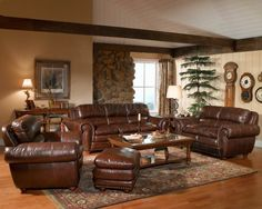 cool brown leather sofa living room intended for Desire Check more at http://bizlogodesign.com/brown-leather-sofa-living-room-intended-for-desire/