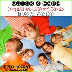 Quick and Easy Cooperative Learning Games: not just for the beginning of the year!