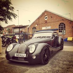 2015 Morgan Aero Coupe black on black