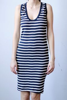 So cute and easy - throw it on and head to the playground @Michelle @ Pretty Mommy Small Trades Lily Dress - Navy/Natural