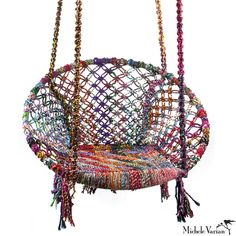 Recycled Fiber Swing by Michele Varian.... dream chair!