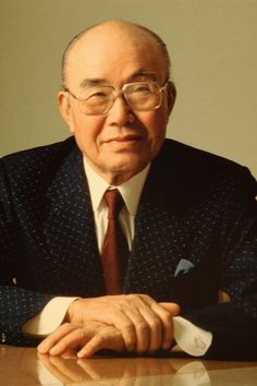 "Japanese great businessman - Soichiro Honda (本田 宗一郎 November 17, 1906 – August 5, 1991) was a Japanese engineer and industrialist. In 1948, he established Honda Motor Co., Ltd. and oversaw its expansion from a wooden shack manufacturing bicycle motors to a multinational automobile and motorcycle manufacturer. ""Success represents the 1% of your work which results from the 99% that is called failure."""