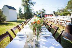Set-up on Northwest Lawn.  Wedding Planner: The Simplifiers  scottstater.com