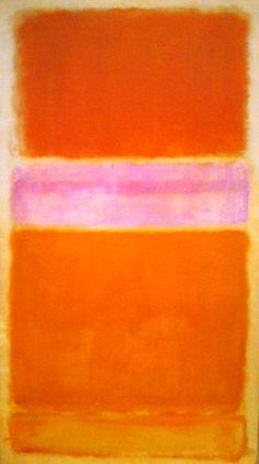 Orange and Red / Mark Rothko 1956