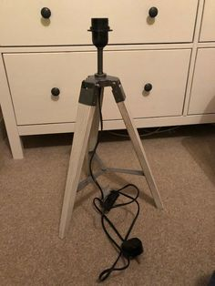 Doesn't go with my n ew r oo m. Vintage Furniture For Sale, Rustic Wood Furniture, Back To Home, Tripod Lamp, Old Wood, Antiques, Ebay, Home Decor, Antiquities