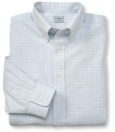 Wrinkle resistant classic oxford cloth shirts oxfords for Ll bean wrinkle resistant shirts