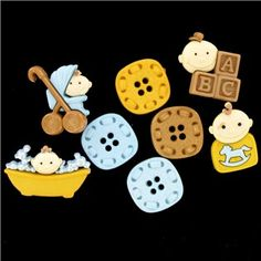 Dress It Up by Jesse James Baby Fun - Boy Buttons   Shop Hobby Lobby