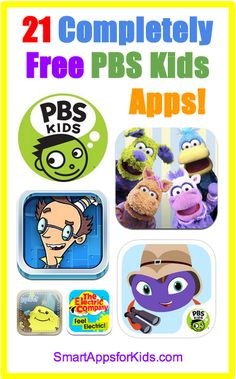 TWENTY-ONE Completely Free PBS Kids apps!  http://www.smartappsforkids.com/2014/06/good-free-apps-of-the-day-twenty-one-completely-free-pbs-kids-apps.html