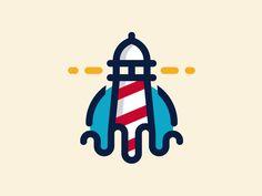Lighthouse Logo by Alberto Bernabe (Spain)