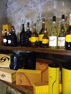 Ed ecco i #vini di Villa Sparina con l'inconfondibile etichetta gialla!