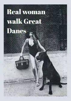 I love my Great Dane!