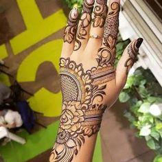 Easy Mehndi Designs, Latest Mehndi Designs, Bridal Mehndi Designs, Pretty Henna Designs, Khafif Mehndi Design, Engagement Mehndi Designs, Floral Henna Designs, Indian Mehndi Designs, Henna Art Designs