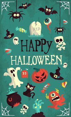 Halloween Vector Art Pack - Free Vector Site | Download Free Vector Art, Graphics