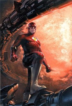 'The Flash' Features a Series of Decade Variant Covers by Comics' Greatest Artists Flash Comics, Dc Comics Heroes, Dc Comics Art, Fun Comics, Comic Book Heroes, Marvel Dc Comics, Comic Books Art, Comic Art, Book Art