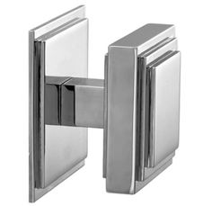 Like as a first look but not in love with it. Contemporary Stepped Square Centre Door Knob 76mm | Door Handles