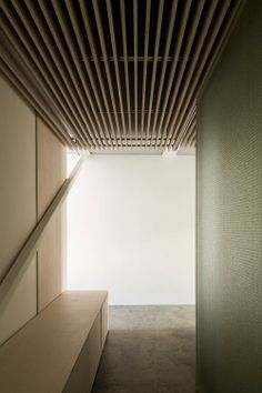 Slip House by Carl Turner Architects - Design Milk: Good option for ceiling acoustic dampening