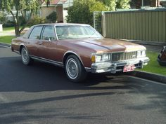 Chevrolet Classic Caprice 1980 350 Motor. Imported & converted to RHD when new.