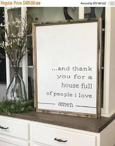 FALL SALE 25% OFF And Thank You For A House Full Of People I