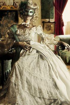 Lovely masked lady by Daneli on Flickr.